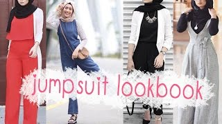 Casual Hijab Fashion -  Jumpsuit Lookbook -  the best choice for this Summer screenshot 4
