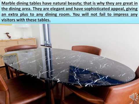 NORDST   The Benefits of Marble Dining Table