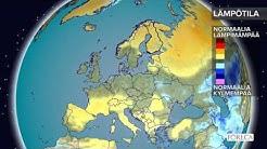 Kuukausiennuste lämpötiloista 7.2.2017: Kylmän jakson jälkeen lauhempaa