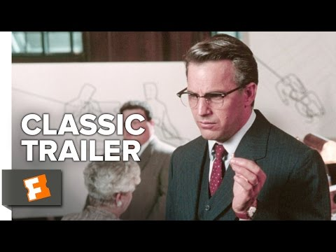 JFK (1991) Official Trailer - Kevin Costner, Oliver Stone Thriller Movie HD