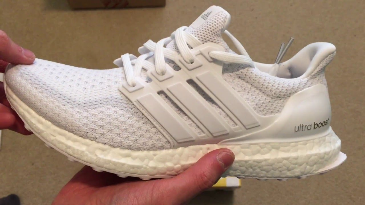 Adidas Ultra Boost Triple White 7