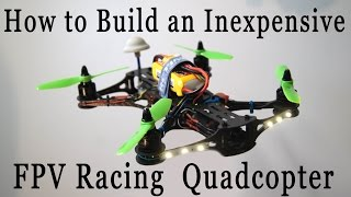 FPV Quadcopter Build Part 2 - RCLifeOn