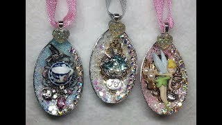 DIY~Gorgeous Sparkly Plastic Spoon Ornaments From D.T.! Amazing!
