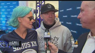 Donnie Wahlberg, Jenny McCarthy In Minnesota For SBLII Video