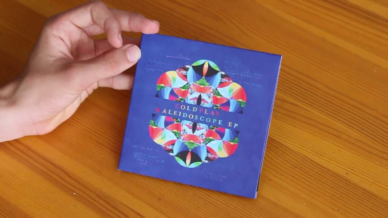 Download Coldplay - Kaleidoscope EP | UNBOXING