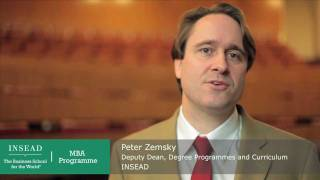 Welcome from INSEAD