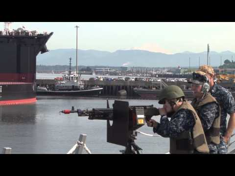 Naval Station Everett -- Exercise Citadel Protect