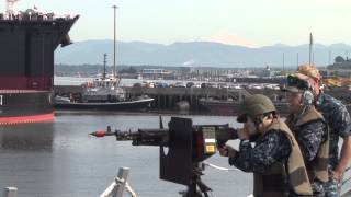 Naval Station Everett -- Exercise Citadel Protect