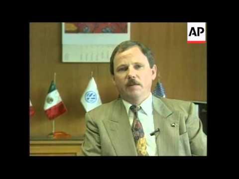 MEXICO: PUEBLA: PRODUCTION OF NEW VOLKSWAGEN BEETLE BEGINS