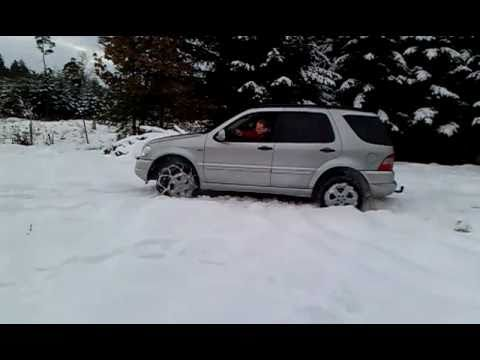 Mercedes benz ml w163 doovi for Mercedes benz tire chains