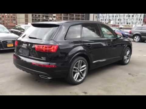 2017 Audi Q7 W Black Optics Pkg