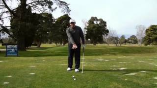Bradley Hughes Golf- Steep Shoulders/Level Shoulders