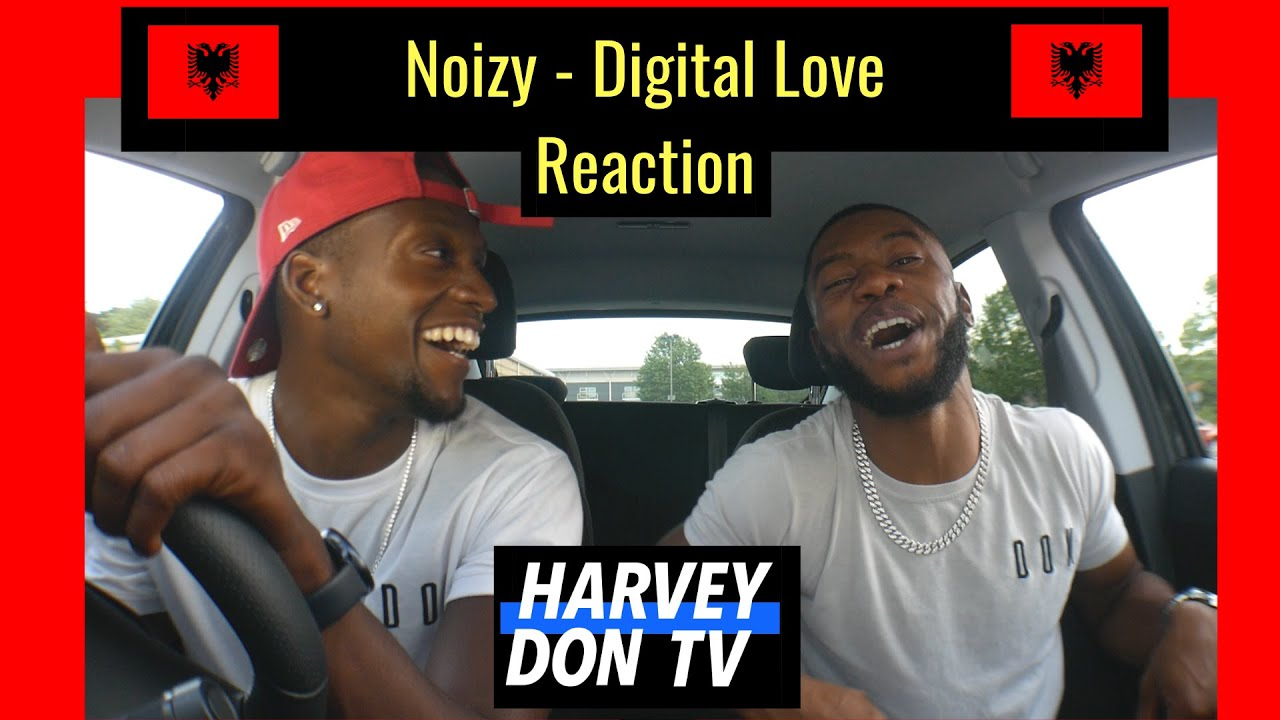Noizy - Digital Love Reaction #HarveyDonTV #Raymanbeats