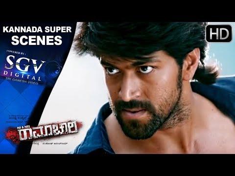 Rocking Star Yash Super Fight Scene - Mr And Mrs Ramachaari Kannada Movie With Radhika Pandith