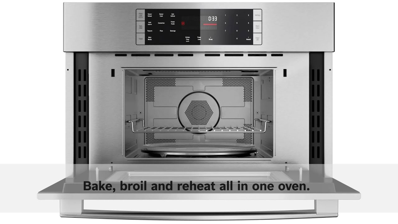 bosch speed microwave oven - youtube