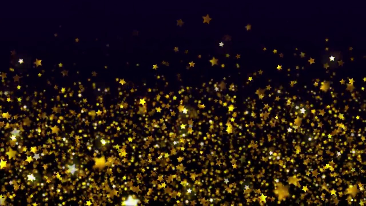 Shimmering Gold Stars Free Stock Video Background Loop ... - photo #33