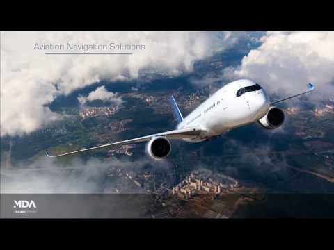 MDA Aviation Navigation Solutions for Flight Procedure Design and Aeronautical Charting Products