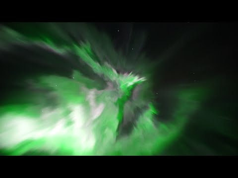 Northern lights filmed in real time in Iceland! Really spectacular to see