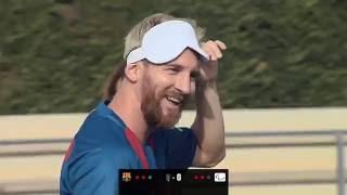 Estrellas de FC Barcelona y selección española de fútbol sala para ciegos celebran deporte inclusivo
