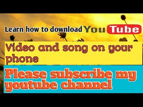 How To Download Video And Mp3 From YouTube Ll R.B CREATION Ll
