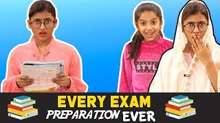Every Exam Preparation Ever | SAMREEN ALI