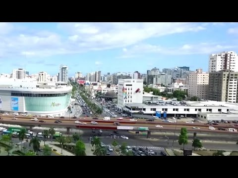 Santo Domingo, Dominican Republic City - Agora mall Av. Los Proceres documentary