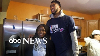 NBA stars help repair tornado damage in New Orleans