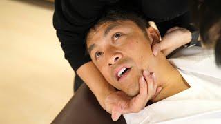 【バキバキ】長年の背中のコリが完全に治った整体動画 @治療家ホリ先生