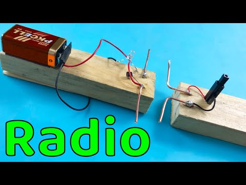 How to make the world's easiest Radio ! Do it yourself at home!
