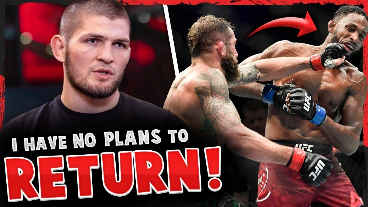 Khabib reveals he has NO PLANS of returning to UFC, Reactions to Michael Chiesa vs Neil Magny