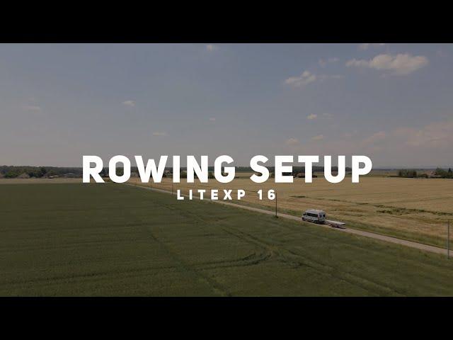 Installation de la configuration aviron du LiteXP16