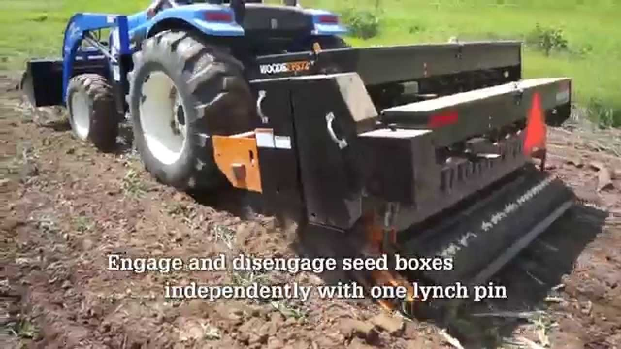 Woods Equipment Food Plot Seeder Youtube