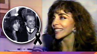 Verónica Castro invitada a la inauguración de la Clínica Juri en Argentina - 1997
