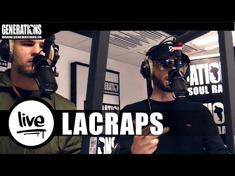 Youtube: Lacraps – Live«J'aurais pu» ft Ali Polva & Dezef (Live des studios de Generations)