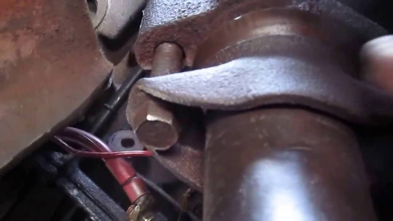 how to remove a starter 1993 to 1996 aerostar all wheel dr part 1 [ 1280 x 720 Pixel ]