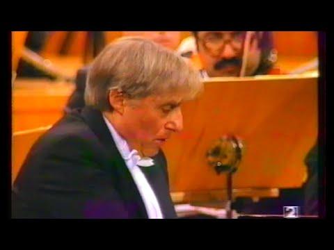 Joaquín Achúcarro: Ravel Piano Concerto in G Major, Enrique García Asensio, Sinfónica de Madrid.