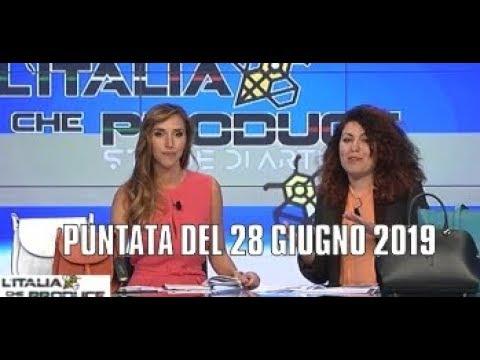 Telelombardia L Italia Che Produce Puntata Del 28 Giugno 2019 Youtube