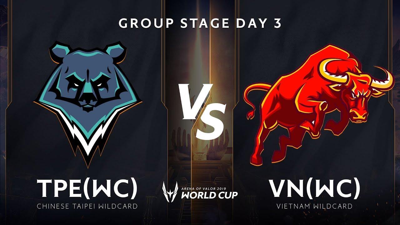 TPE WILDCARD vs Việt Nam WILDCARD- Bảng A - Vòng bảng giải đấu AWC 2019 - Garena Liên Quân Mobile