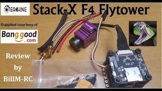 Eachine Stack-X F4 Flytower review & Green Mamba Build Preview