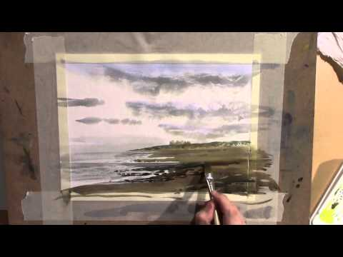 PAINTING WITH SKILL – LESSON 20 – COMPLETE LANDSCAPE, PART 3