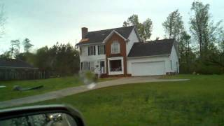 The Damage Of The Tornado In Holly Springs, Nc (4/16/2011)