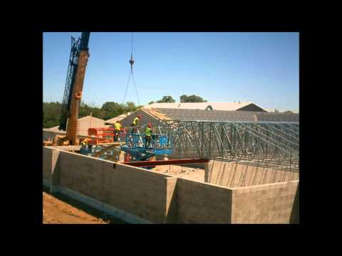 Shoreland Lutheran High School Science Wing Addition Time Lapse Video