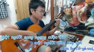 [ Guitar Instrumental ] Mưa Đêm Tỉnh Nhỏ - Sáng tác : Hà Phương