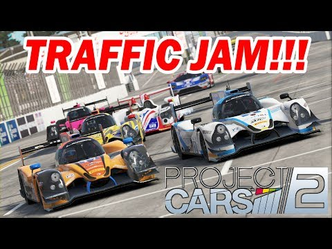 Project CARS 2 -- Traffic Jam at Long Beach [IMSA Multi-class Race]