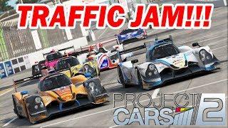 Project CARS 2 -- Traffic Jam at Long Beach [IMSA Multi-class Race]