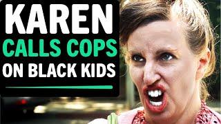 KAREN Calls Cops on Black Kids Selling Water, What Happens Next Is Shocking