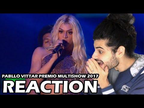 Pabllo Vittar  Premio Multishow  REACTION  Reação e comentários