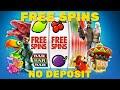 Best Free Spins No Deposit 2021💲💲💲New Casino Bonus Codes