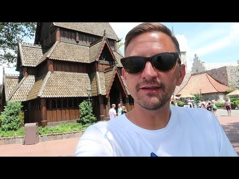 Adventures Around The World Showcase At Disney! | Taking A Closer Look At The Norway Pavilion