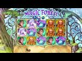 You'll be spellbound in Magic Forest online slot with free spins & a mega win at Gambino Slots!